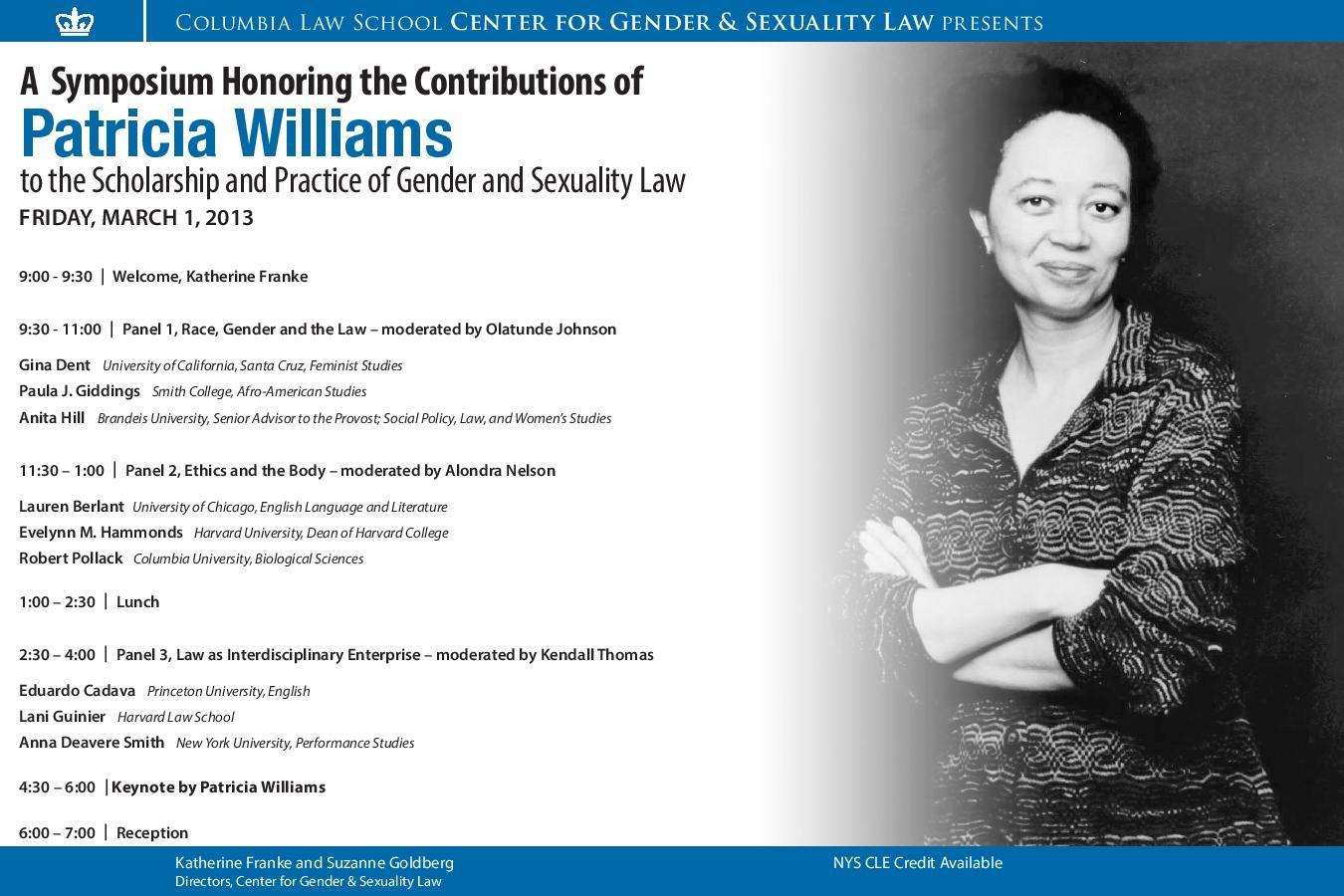 Williams Symposium